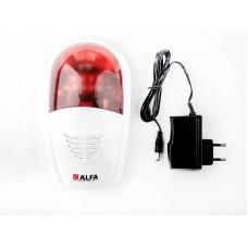Светозвуковая сирена ALFA SP805H